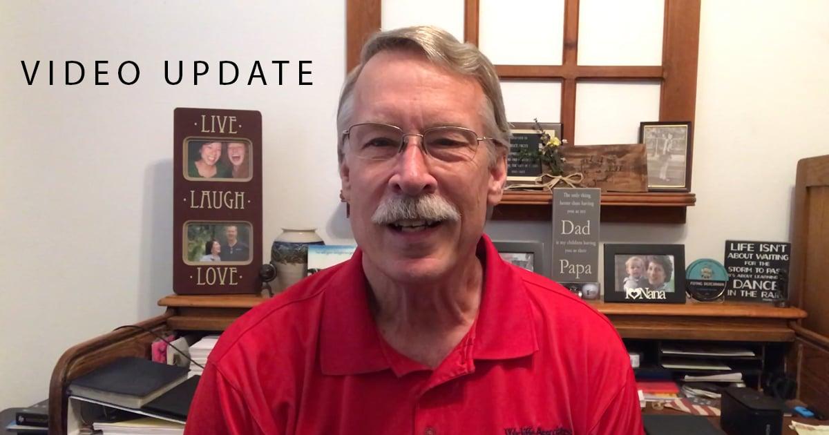 Bruce Video Update April 24th 2020