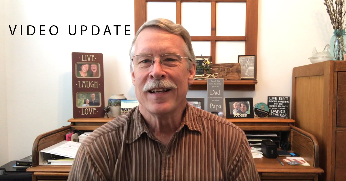 April 13th Bible Translation Update Video