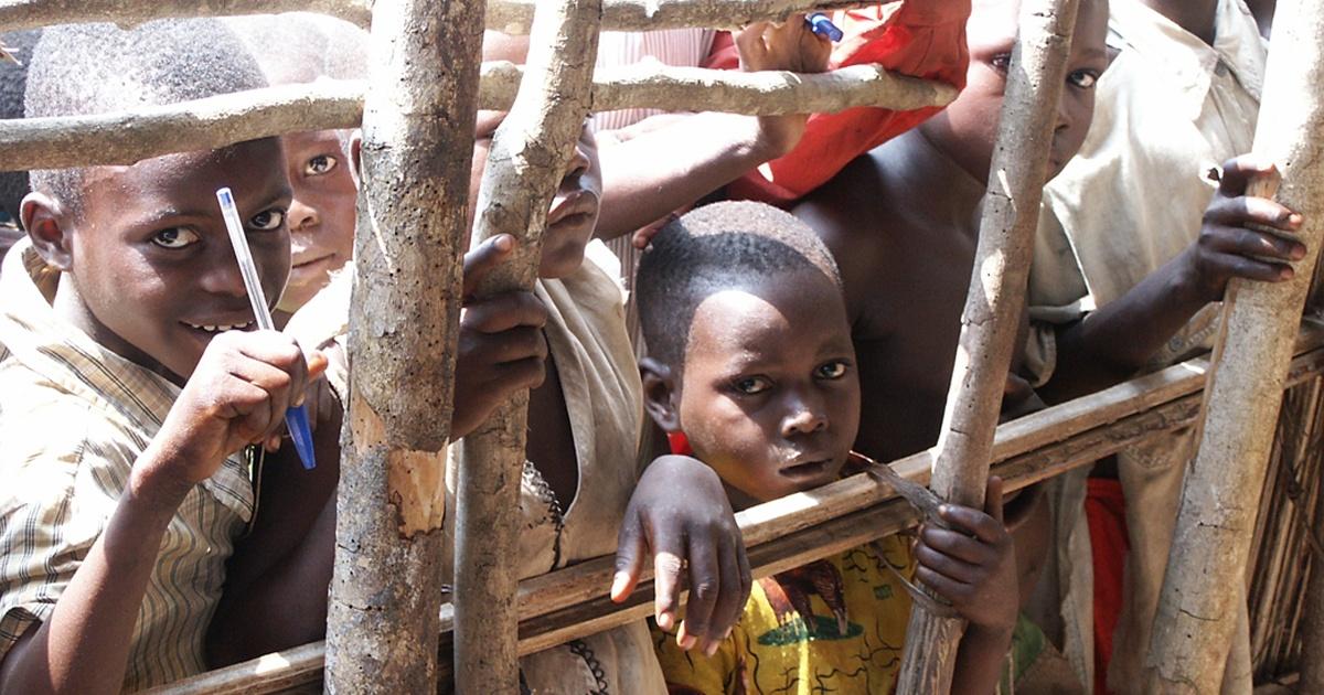 Children in the DRC