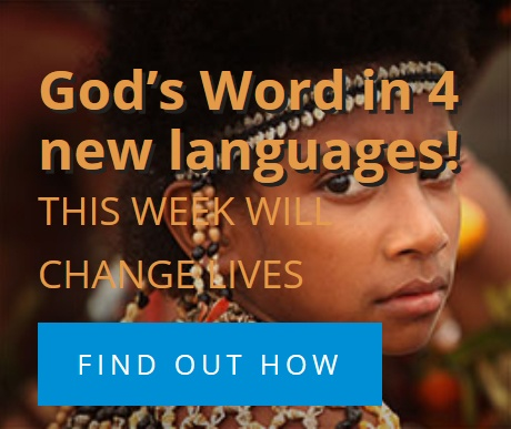 God's Word in 4 new languages