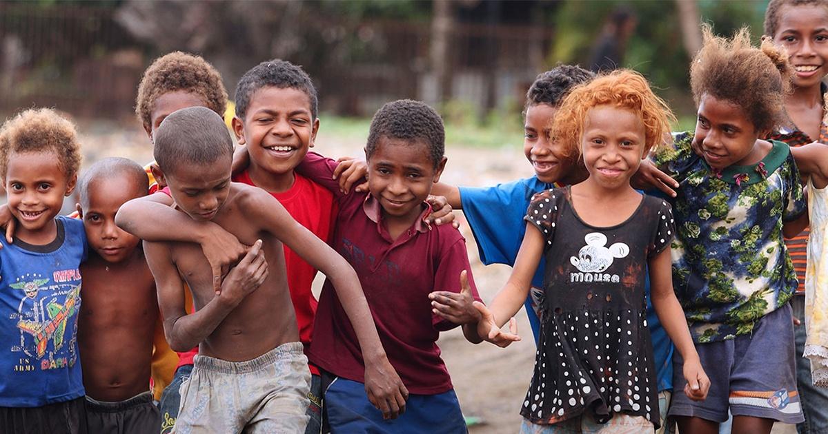 Children in Papua New Guinea